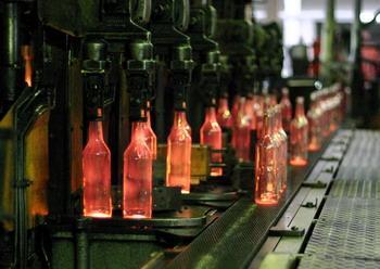 Продукция Камышинского стеклотарного завода