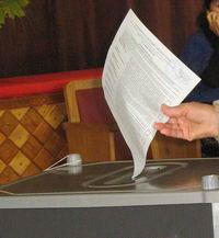 Избирательный голос - бюллетень