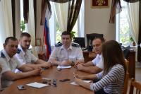 В прокуратуре состоялась пресс-конференция Камышинского городского прокурора
