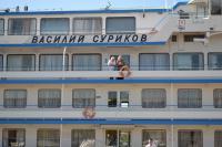 В Камышин прибыл теплоход «Василий Суриков»
