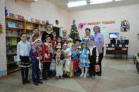 В камышинской библиотеке прошло предновогоднее мероприятие ТОС «Улыбка»