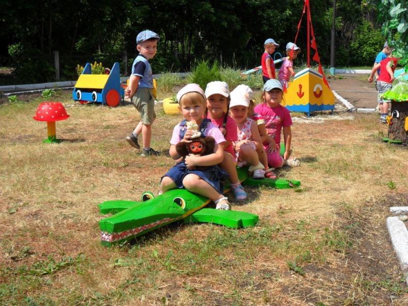 Оформление участок детского сада своими руками