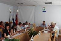 Сегодня в Камышинской городской Думе состоялось заседание комиссии по бюджету, налогам, экономической политике и муниципальной собственности