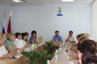 Совещание с председателями ТОС под председательством Главы Администрации городского округа - город Камышин С.В. Зинченко