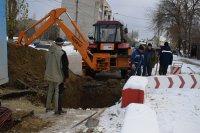 Водоканал Камышина продолжает замену сетей