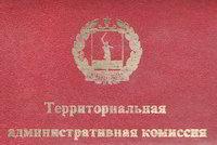 Территориальная административная комиссия городского округа