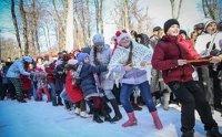 Народные гулянья, посвященные Дню российского студенчества