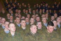 Праздничный концерт для воинов 56-ой ОДШБр