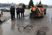 Глава Администрации городского округа – город Камышин Станислав Зинченко совершил объезд городских дорог