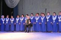 Народный хор «Ветеран» отметил свой юбилей