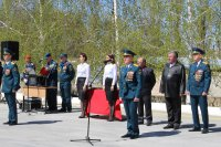 В Камышине состоялось мероприятие, посвященное 368-ой годовщине со дня образования пожарной охраны России