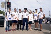 В Камышине прошла акция «Юный пешеход!»