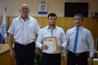 В Администрации города состоялось торжественное награждение спортивного актива