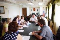 Заседание антинаркотической комиссии городского округа-город Камышин
