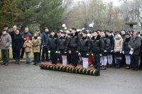В Камышине состоялся митинг, посвященный 75-летию отправки комсомольцев-добровольцев на Сталинградский фронт
