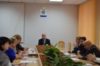 Заседание Координационного совета по взаимодействию с социально ориентированными некоммерческими организациями