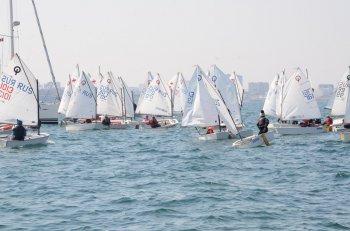 Соревнования по парусному спорту