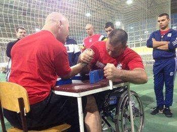 Соревнования среди инвалидов