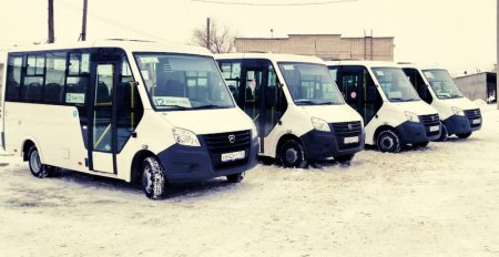 Автобусы муниципальной автоколонны