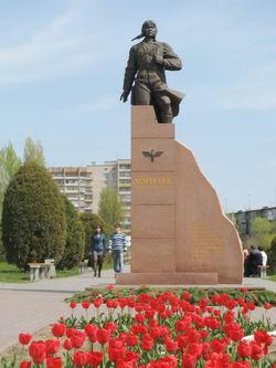 Памятник А.П.Маресьеву