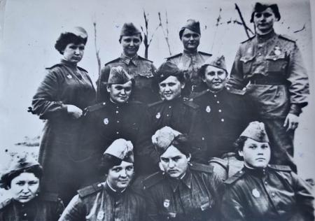 Участник Сталинградской битвы - Булгакова Зинаида Федоровна