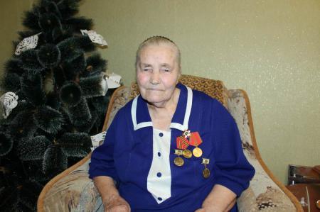 Участник Сталинградской битвы - Великанова Мария Григорьевна