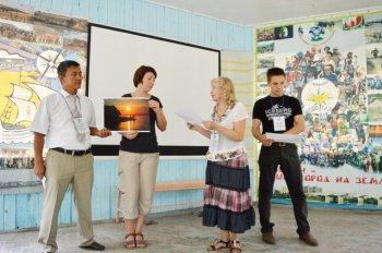 Вручение дипломов участникам семинара