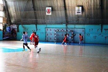 Соревнования по мини-футболу среди мужских команд