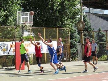 Соревнования по уличному баскетболу