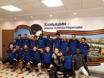 Команда французских футболистов