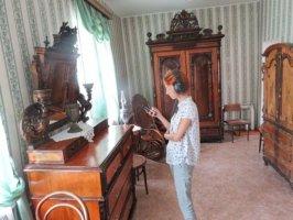 Гостиная в доме немецких колонистов